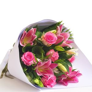 Picture of Roses & Lilies