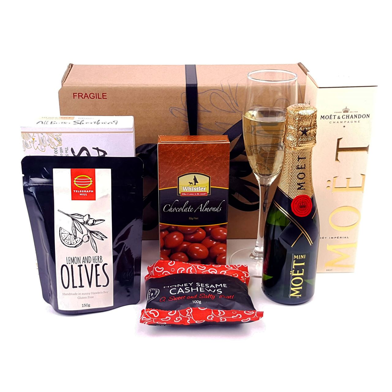 Moet and munchies gift hamper and gift basket free delivery picture of moet and munchies negle Images