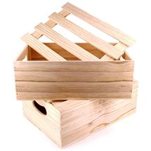 Picture of Sustainable NZ Pine Lidded Crate
