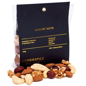 Picture of Luxury Mixed Nuts 100g (GF, DF, V)