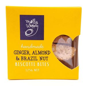 Picture of Ginger & Mixed Nut Biscotti 125g