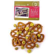 Picture of Mini Pretzels & Wasabi Peas (50g)