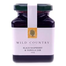 Picture of Raspberry & Vanilla Bean Jam 245g (GF,DF,Vg)