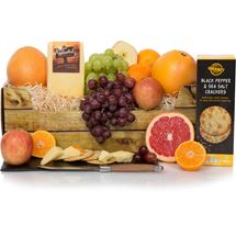 Picture of Fruit & Cheese Gift Basket