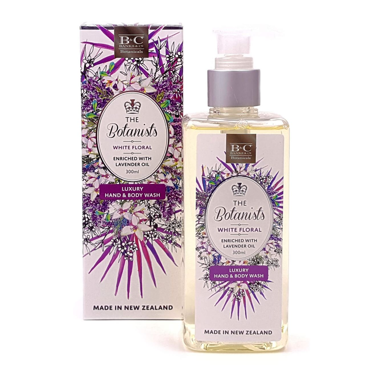 White Flower Body Wash Hamper Add On Free Delivery Flying Flowers