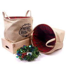 Picture of Merry Christmas Hessian Bag