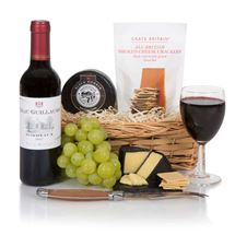 Picture of Wine & Cheese Gift Basket