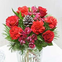 Picture of Festive Red  Bouquet