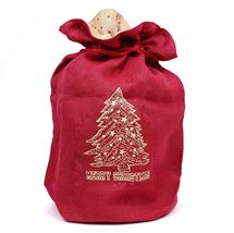 Picture of Cheerful Christmas Sack with Drawstring