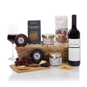 Picture of Wine, Cheese & Pate