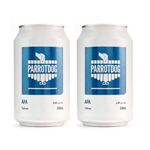 Picture of Two Cans of Parrotdog Falcon APA 330ml